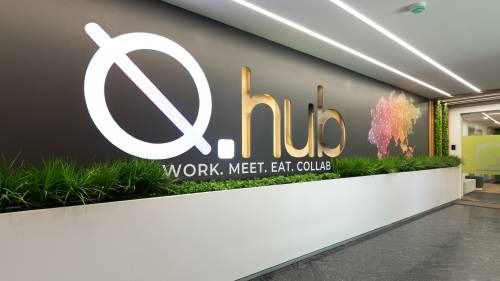 Workspace In Hyderabad | Coworking Space Near Me | Private Suites Workspace In Hyderabad | Qhub
